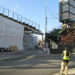 Right field corner, more shrouded than it has been recently