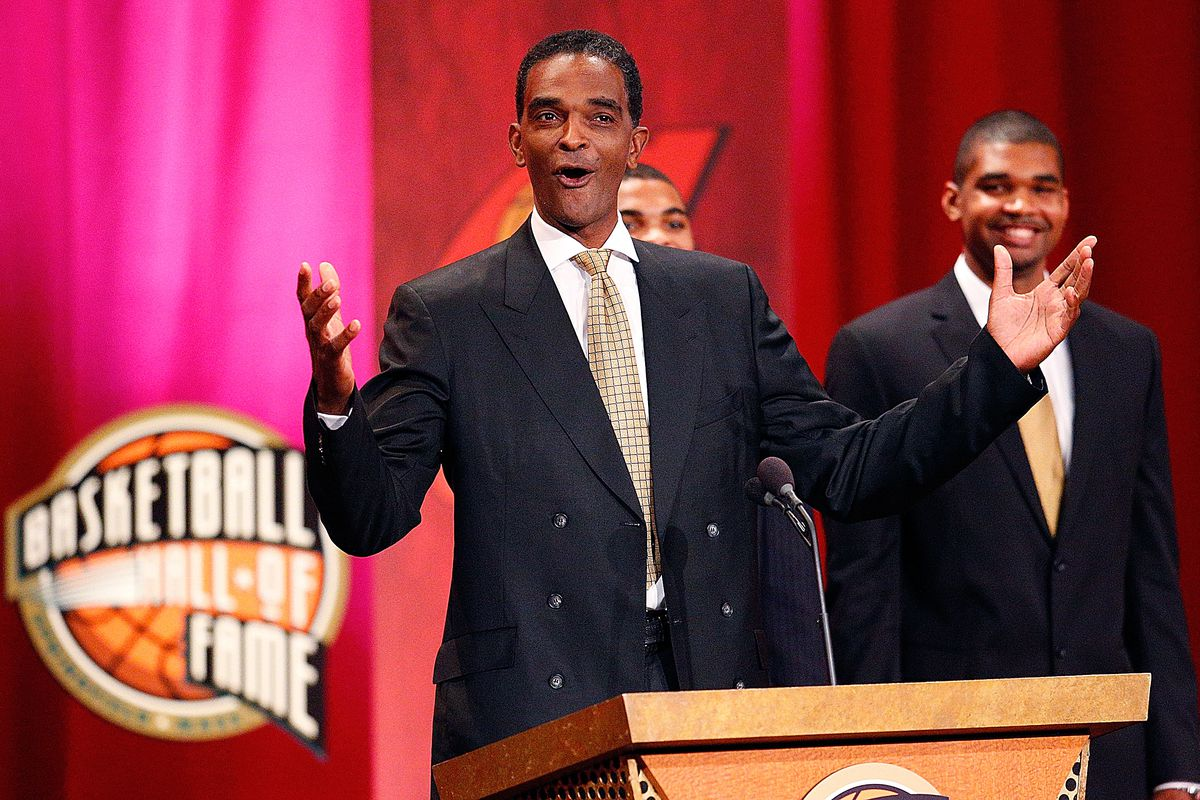 Ralph Sampson to face off against Kareem Abdul Jabbar tonight on