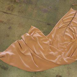 ale by Alessandra dreamcatcher silk maxi dress, $235