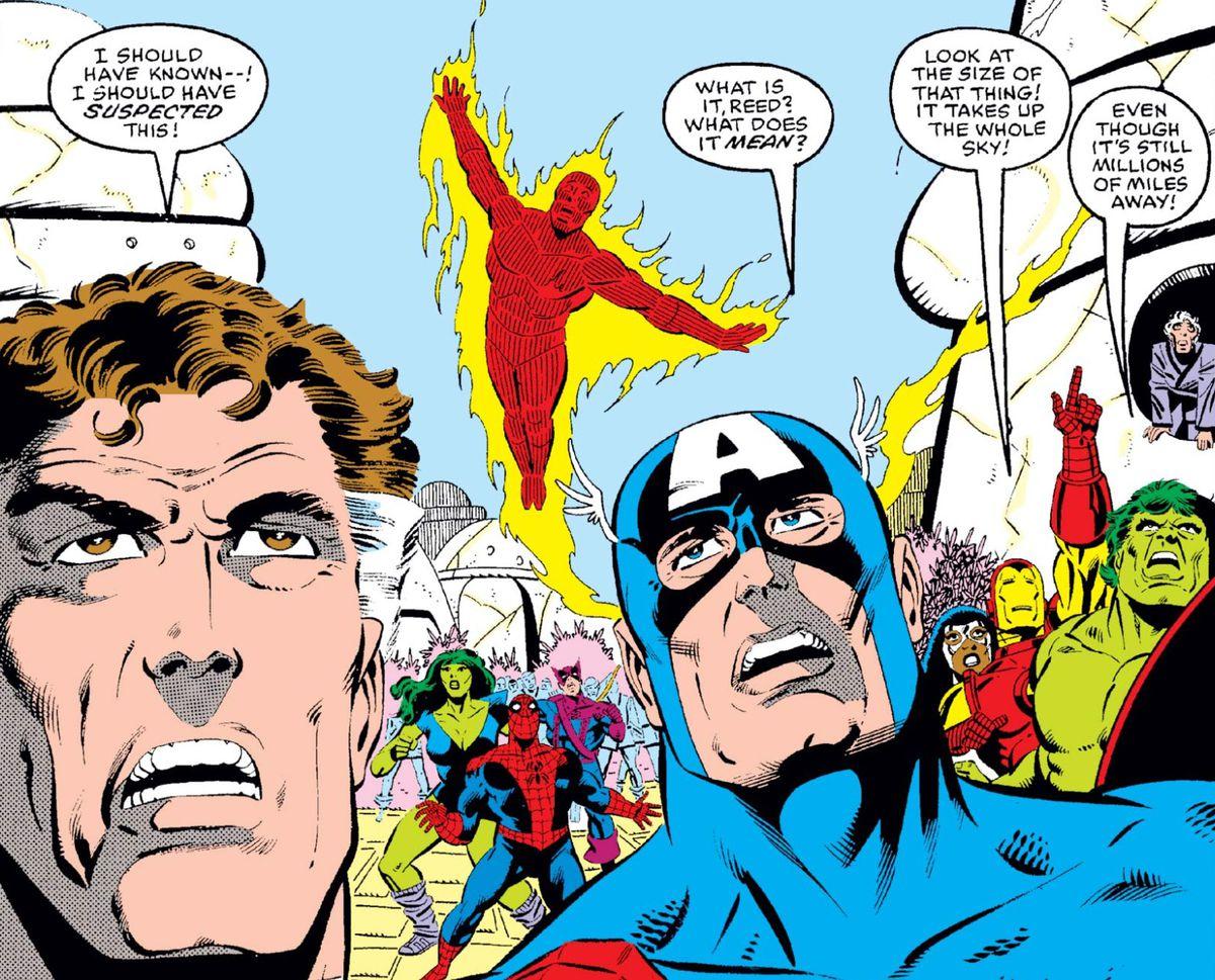 Secret Wars #5, Marvel Comics (1984).