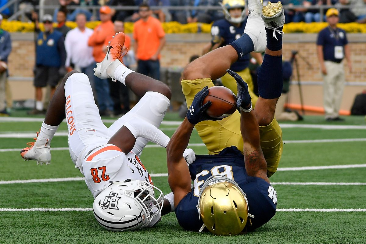 Five Things Learned: Bowling Green Falcons vs. Notre Dame ...