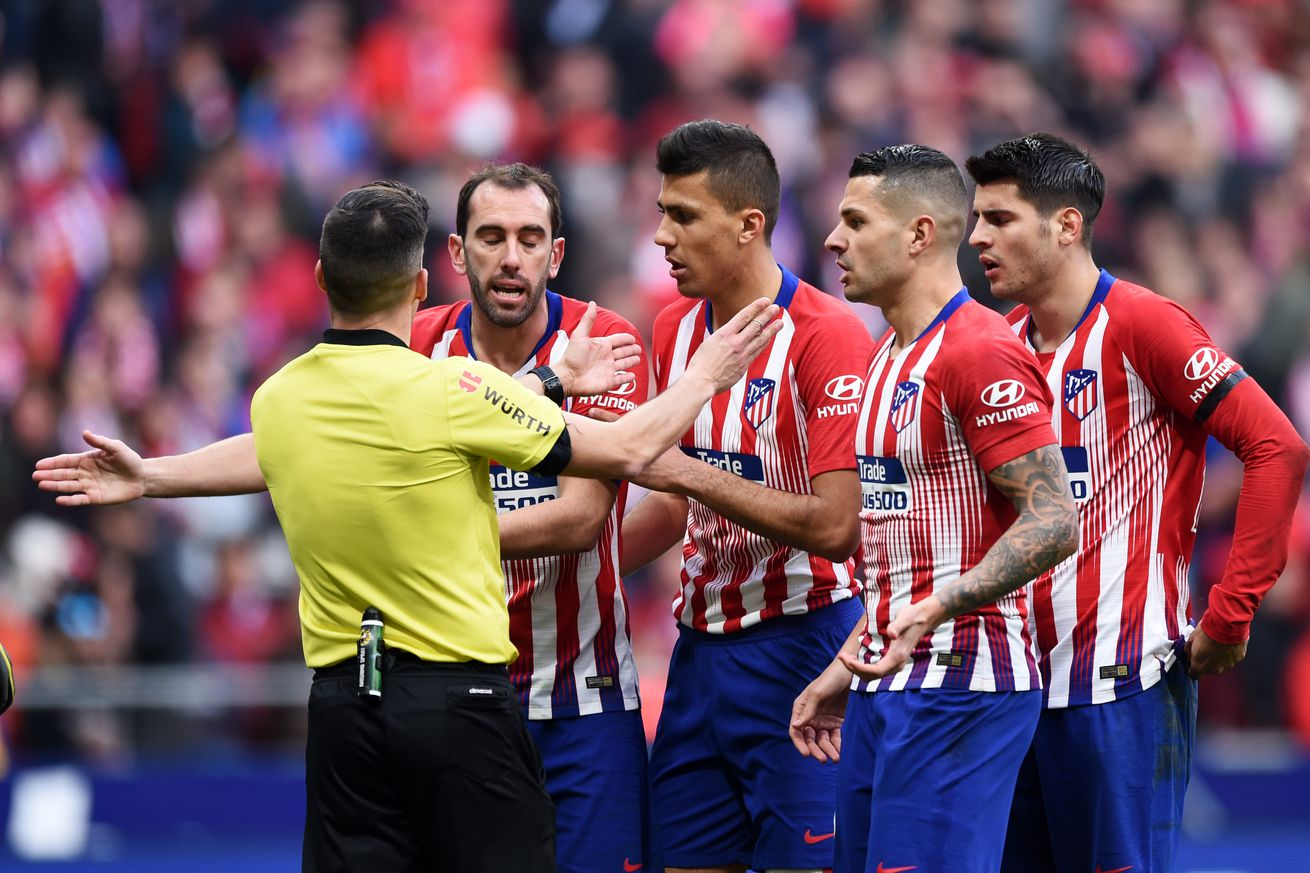 Atlético outdone by Real Madrid as VAR stars at the Wanda Metropolitano