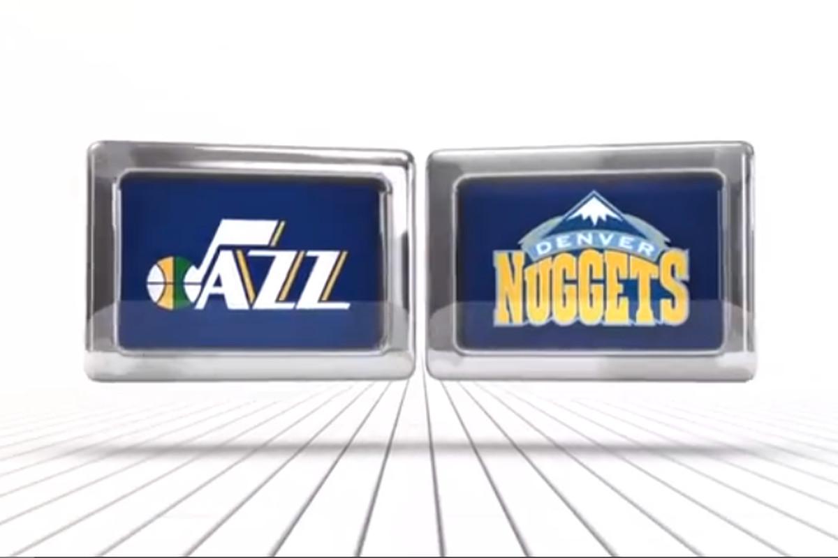 Jazz Vs. Nuggets