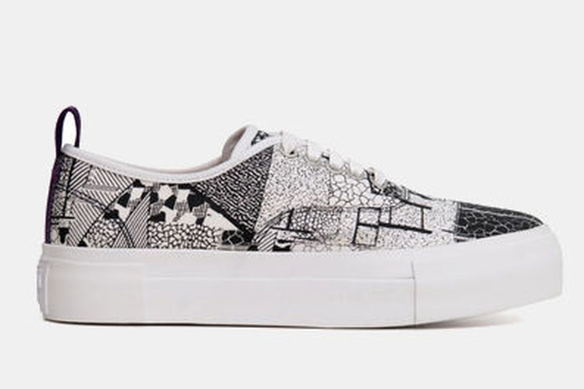 "Eytys Mother Interni Sneaker, <a href=""http://shop.doverstreetmarket.com/us/sneaker-space/eytys/eytys-mother-interni-sneaker-black-white"">$180</a>"