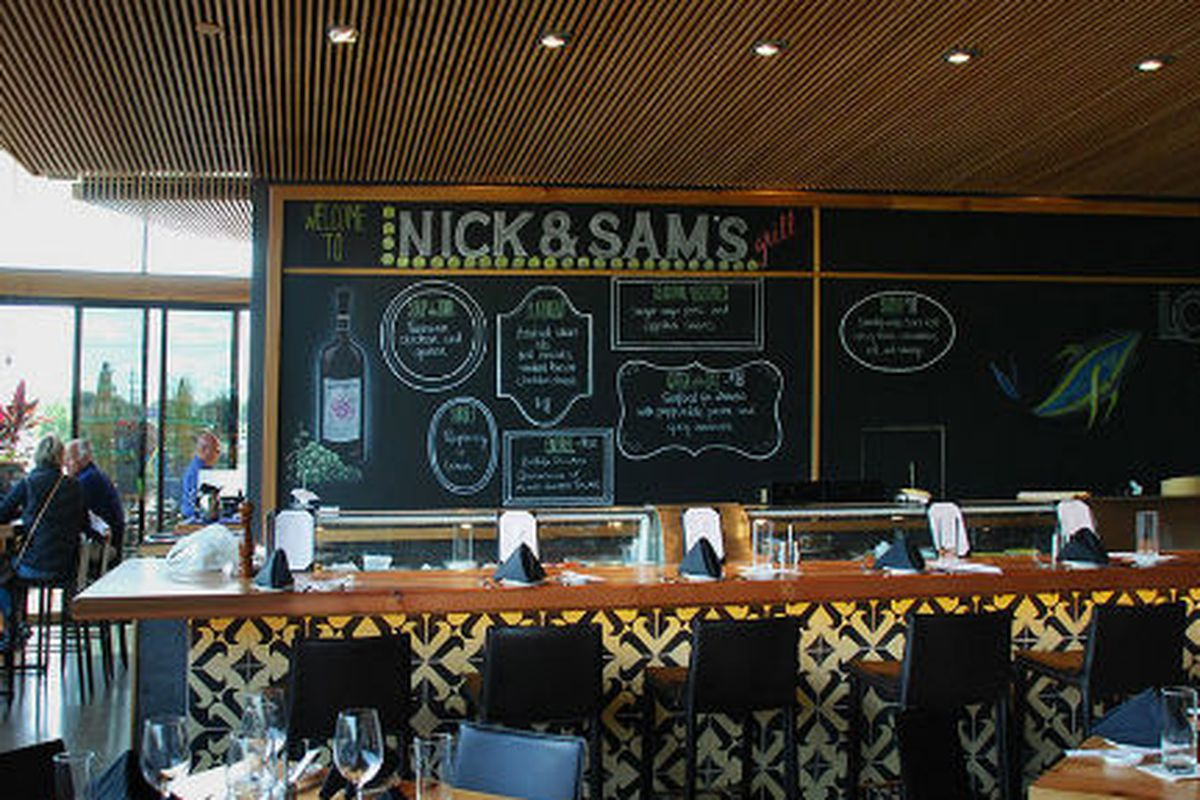 The new Nick & Sam's Grill inside LOOK Cinemas in North Dallas.