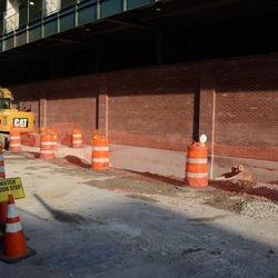 6:36 p.m. Excavation work along Waveland -
