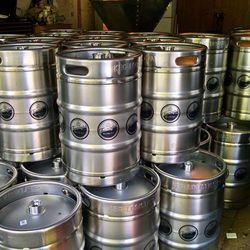 Farmington Brewing Company kegs