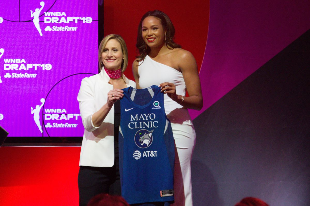 Napheesa Collier Selected No  6 Overall by Minnesota Lynx in WNBA