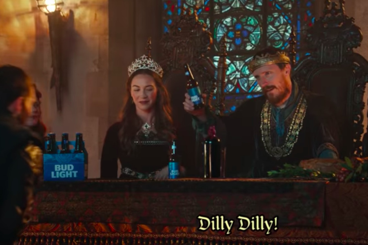 Dilly dilly what does that phrase from bud light commercials mean thank you bud light for introducing this phrase into the national consciousness mozeypictures Gallery