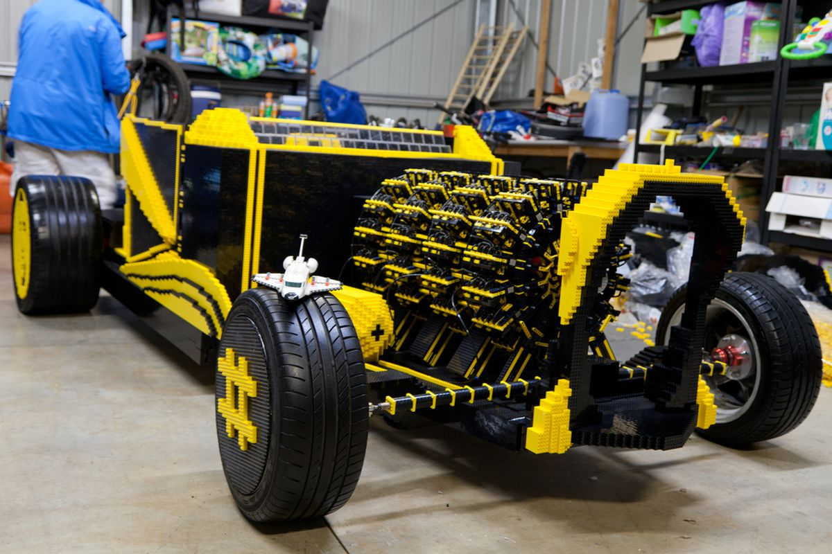 Car That Runs On Air >> Two Guys Made A Life Sized Lego Car That Runs On Air The Verge
