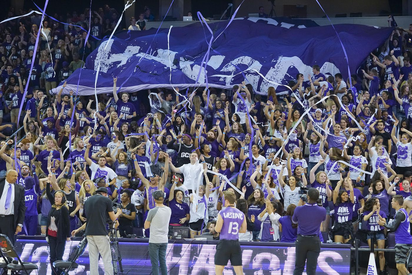 Grand Canyon College Basketball S Best Party Is Emerging