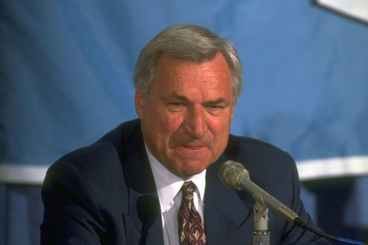 University of North Carolina Coach Dean Smith Retires