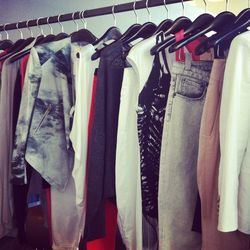 A peek at Helmut Lang's lower-priced line, Helmut