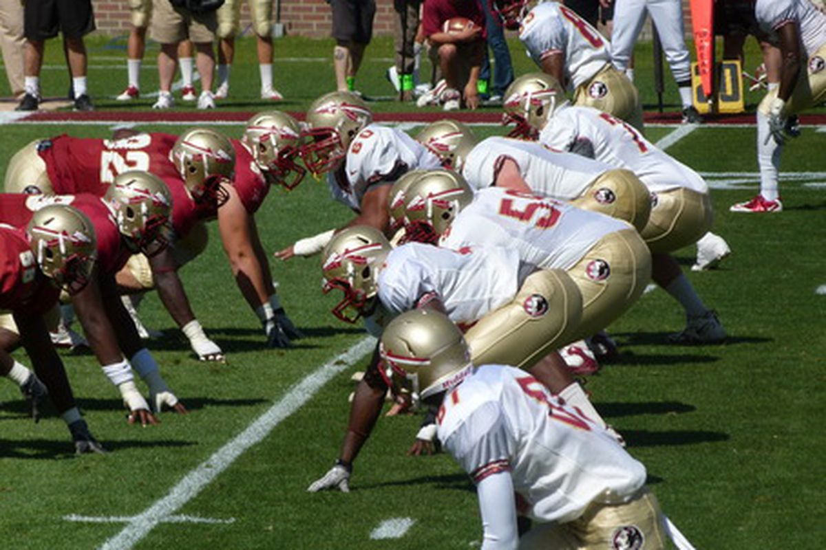 """via <a href=""""http://www.tomahawknation.com/2011/4/18/2116745/hurray-for-spring-photos-and-a-few-notes-on-the-garnet-and-gold-game"""">Tomahawk Nation</a>"""
