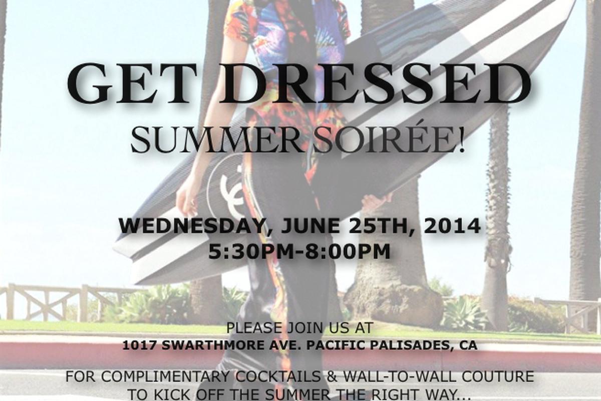 Flyer via Get Dressed LA