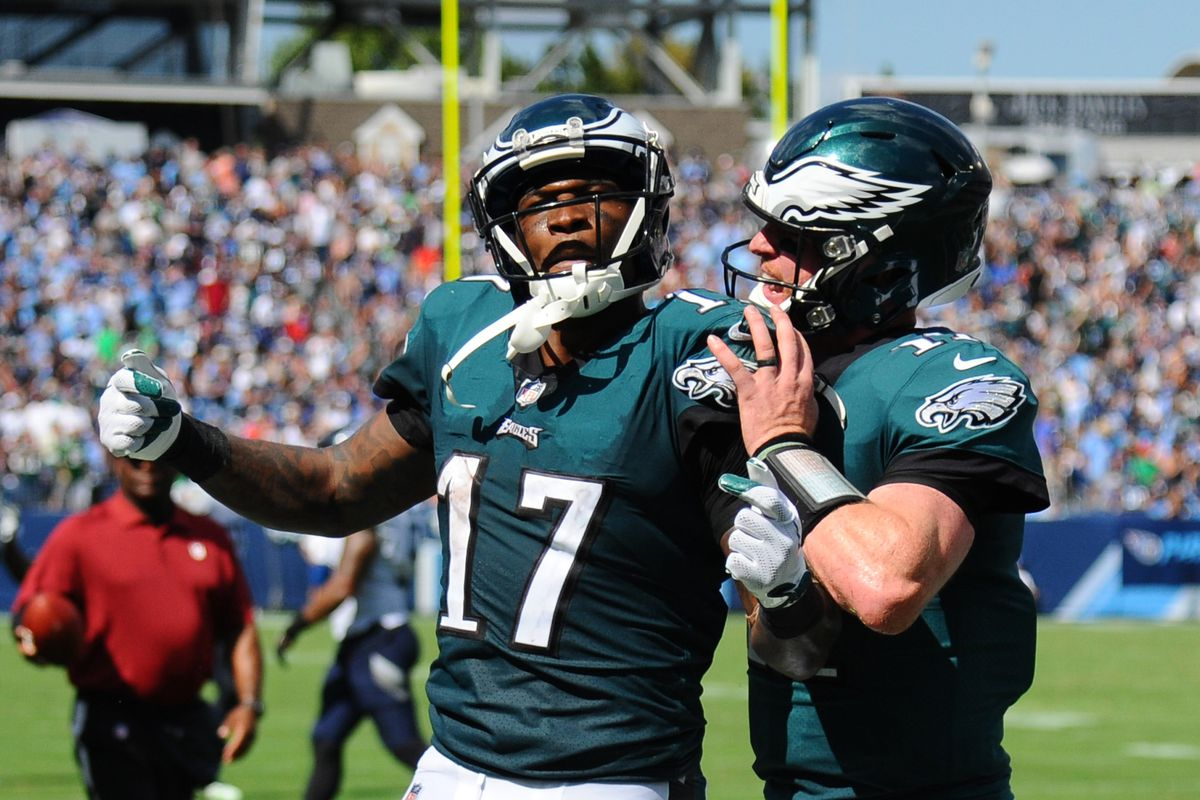 Eagles vs. Ravens Practice Notes: Carson Wentz to Alshon Jeffery is the play of the day