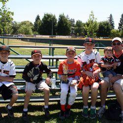 Clay Sannar and his sons (Photo Credit, Sannar family)