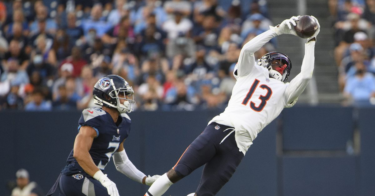 Breaking down the Bears 53-man roster after final cuts