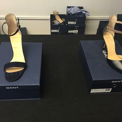 All shoes, $24
