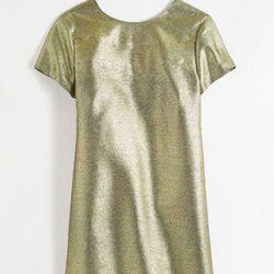 """Shimmer T-shirt Dress, <a href=""""https://www.madewell.com/index.jsp"""">Madewell</a>, $99"""