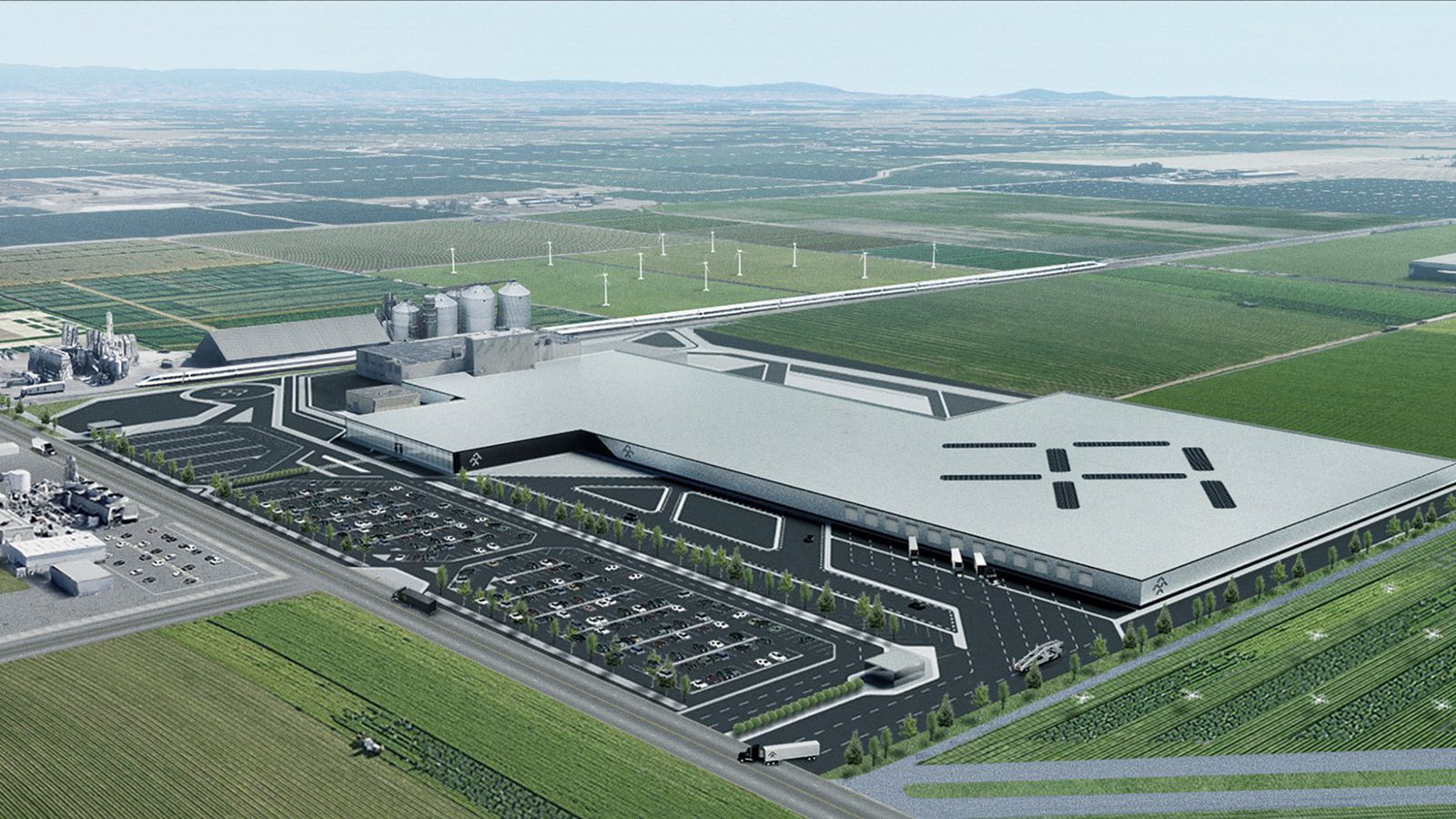 Faraday Future leases central California factory in attempt to keep its electric car dreams ...