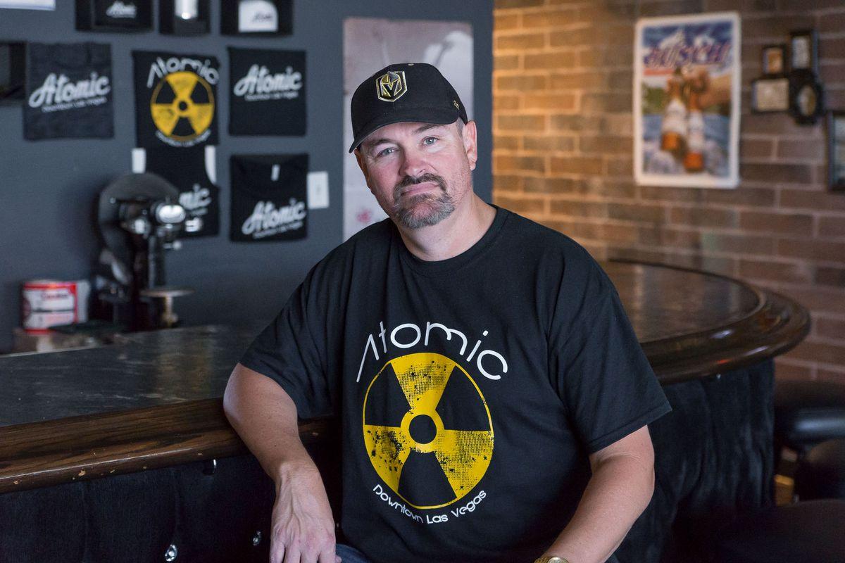 Lance Johns at Atomic Liquors