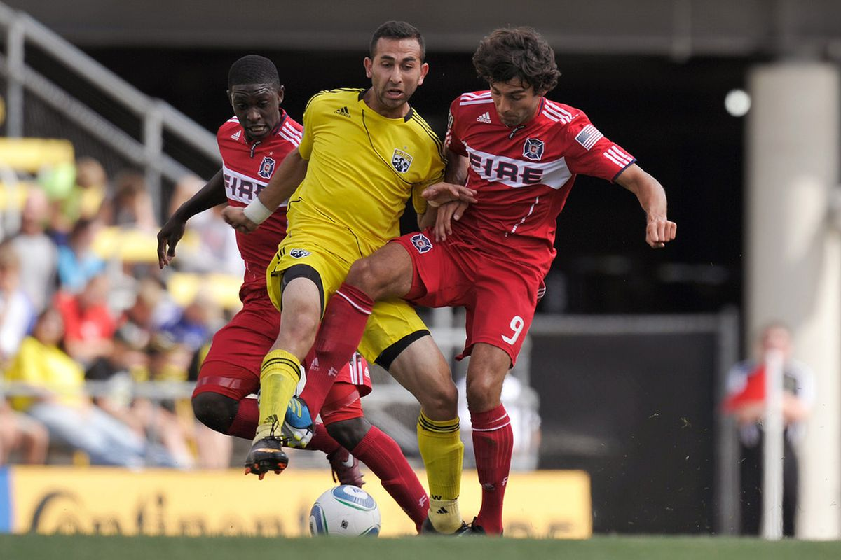 Can Justin Meram continue his steady play against the Fire on Saturday night?