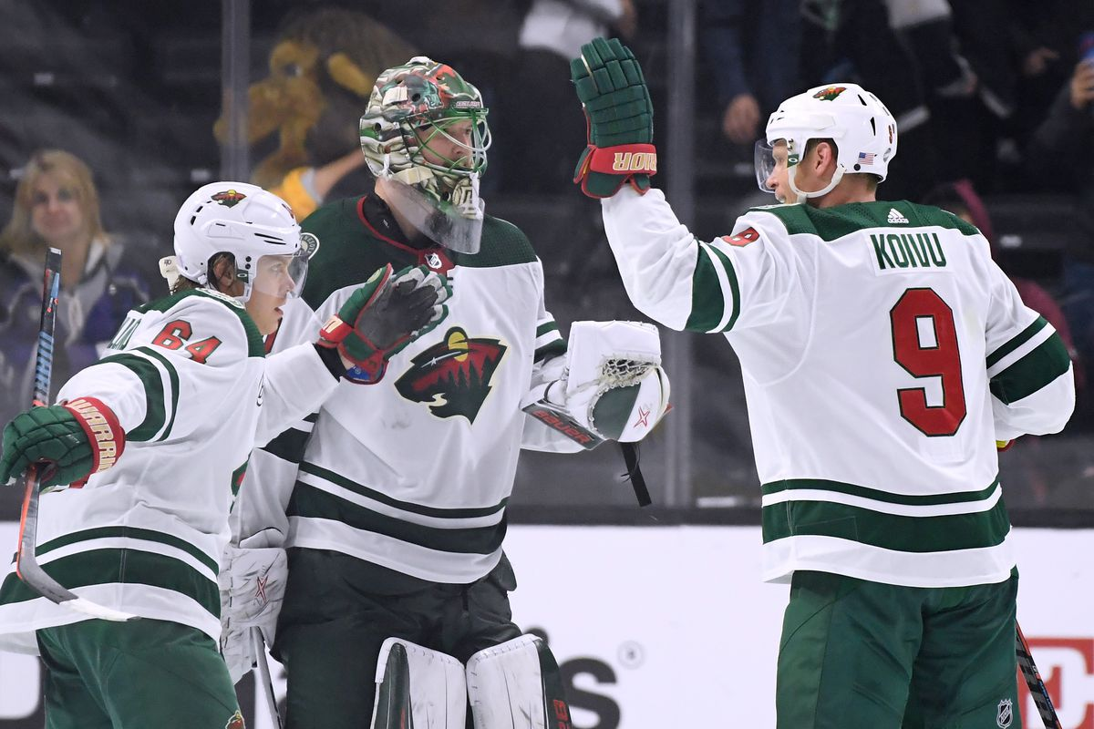 new styles a8582 3365b Wild top Kings on first game of back-to-back - Hockey Wilderness