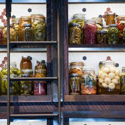 "The pickled veggies await at CBD Provisions. Image via <a href=""http://cbdprovisions.com/index.html"">CBD Provisions</a>"