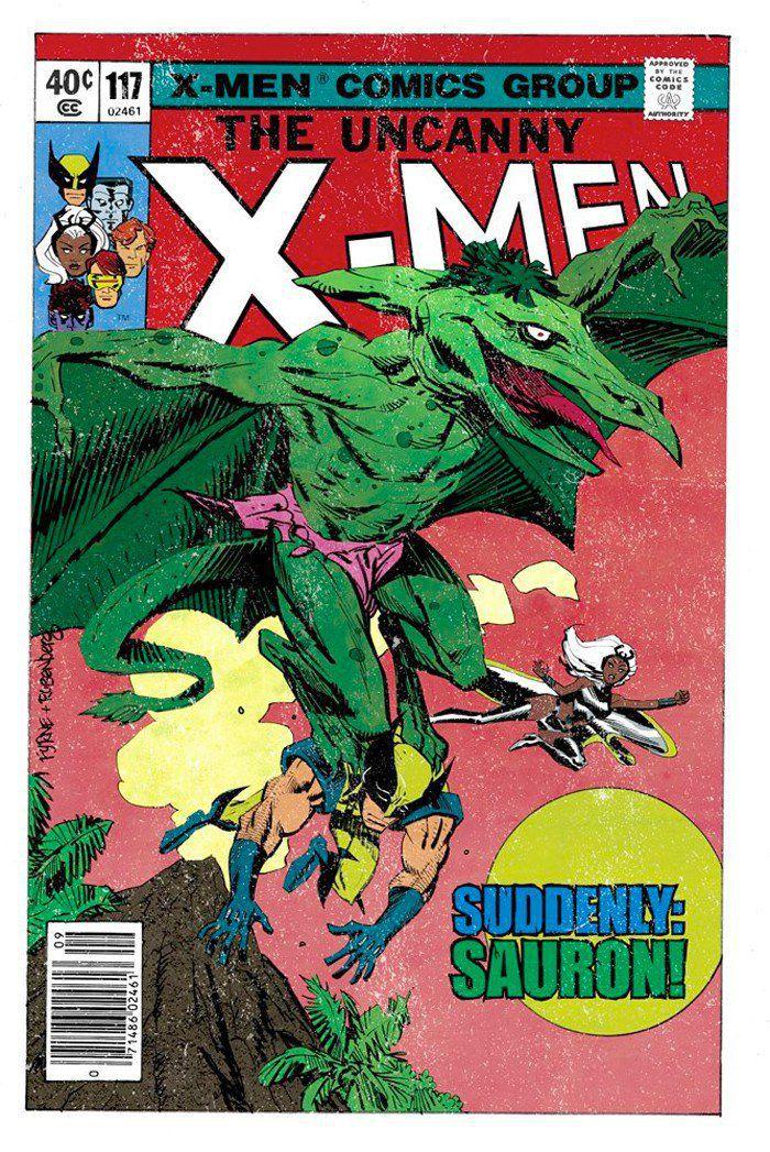 the story behind the custom x-men comics in logan