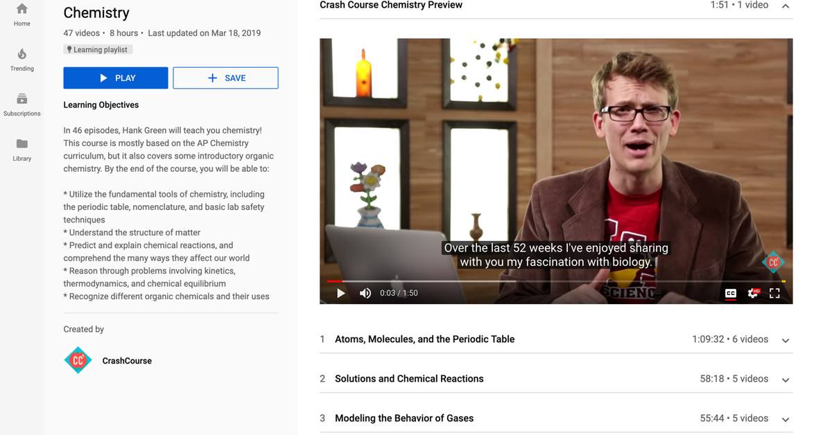 photo of YouTube is launching educational playlists that won't include algorithmic recommendations image
