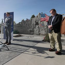 Rep. Ben McAdam, D-Utah, discusses his bipartisan bill to prevent veteran suicides. The bill, which studies the connection between living in high-altitudes and rates of suicide, passed in the House and will now go to the president for his signature.