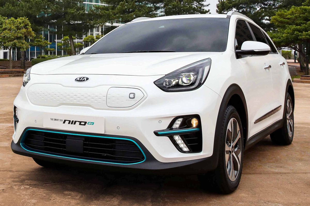 Kia Niro EV revealed in production form with ambitious ...