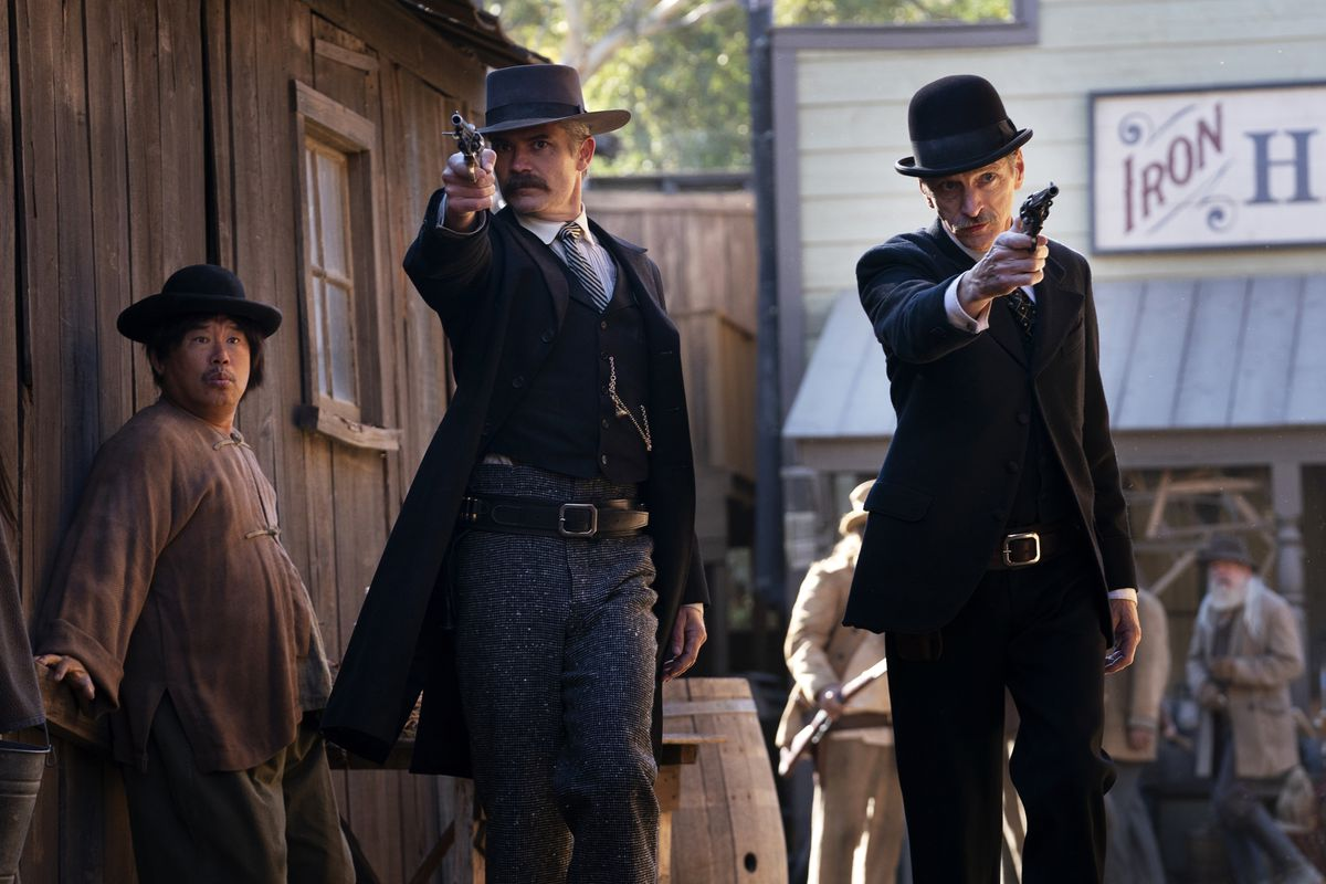 Deadwood: The Movie with Seth Bullock and Saul Starr