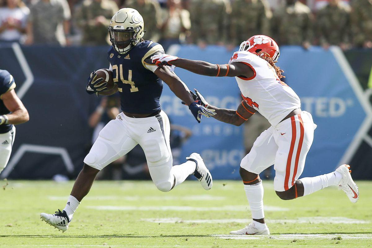 NCAA Football: Clemson at Georgia Tech
