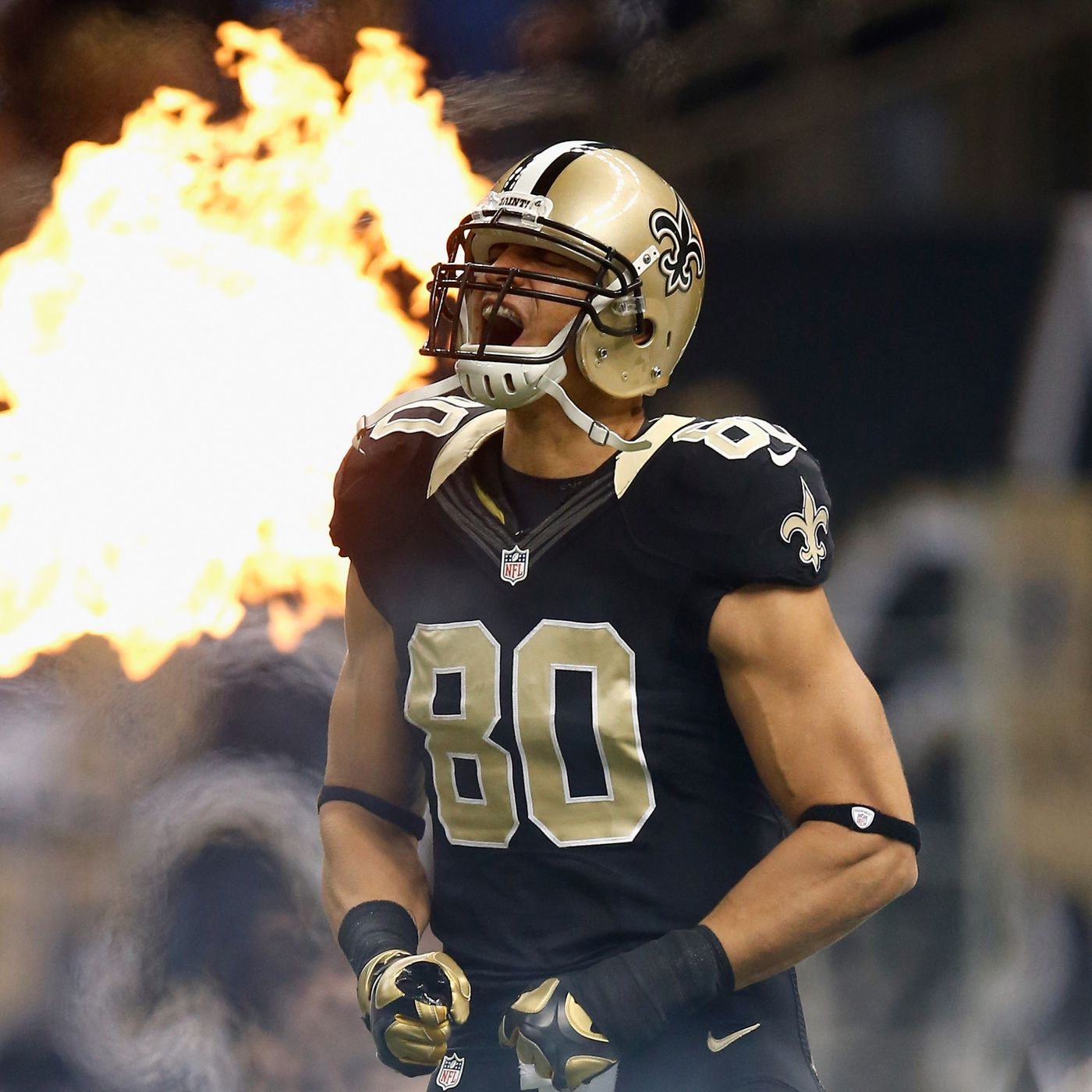 best website d994c 137ac Saints Jimmy Graham: Human or Android? - Canal Street Chronicles