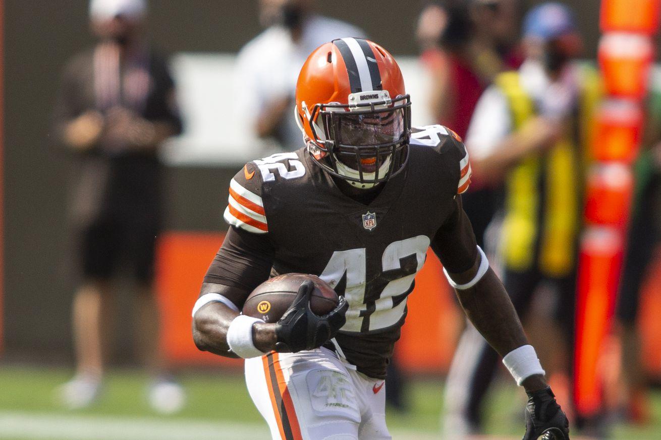 NFL: Washington Football Team at Cleveland Browns