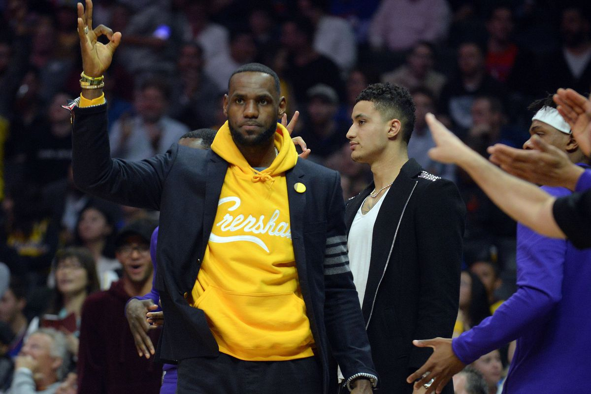 92f6fff0a504 Lakers Rumors  LeBron James not trying to influence Lakers front ...