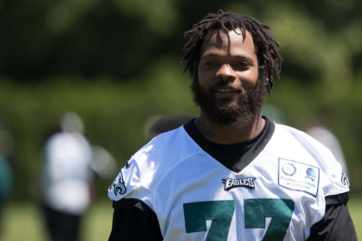 the best attitude 75101 74e58 Michael Bennett changed his Eagles jersey number (and so did ...