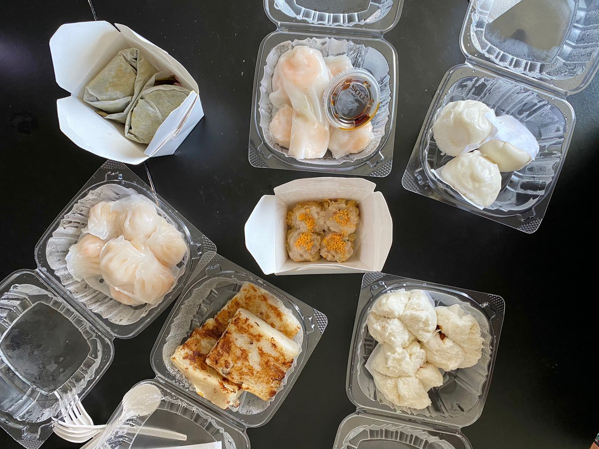 takeout dim sum containers
