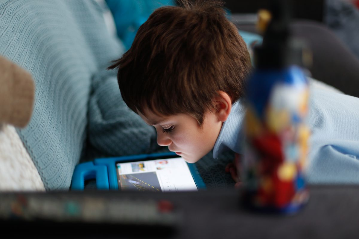 Sydney Mother Balances Work And Home Schooling During Coronavirus Lockdown
