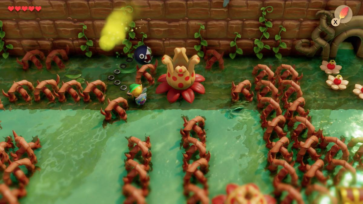 Link's Awakening Goponga Swamp