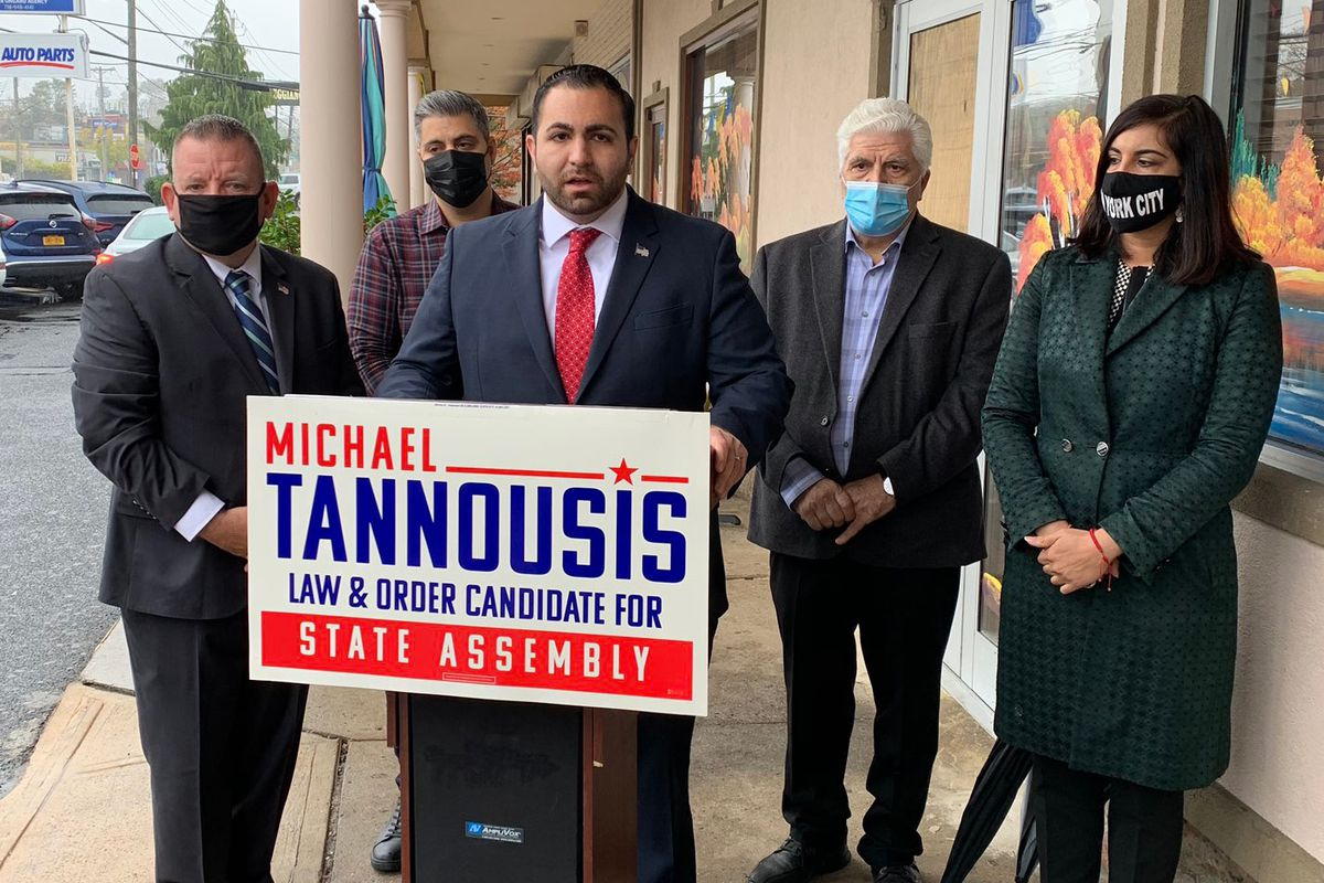 Republican Michael Tannousis will represent part of Staten Island and South Brooklyn in the State Assembly, replacing Malliotakis.