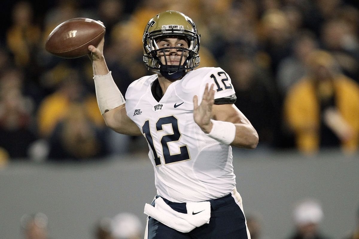 Pitt has a tough non-conference schedule in 2012. (Photo by Jared Wickerham/Getty Images)