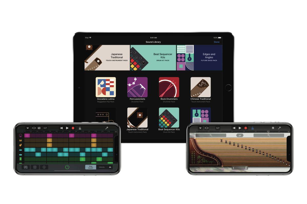 GarageBand update: Apple adds sound pack store - The Verge