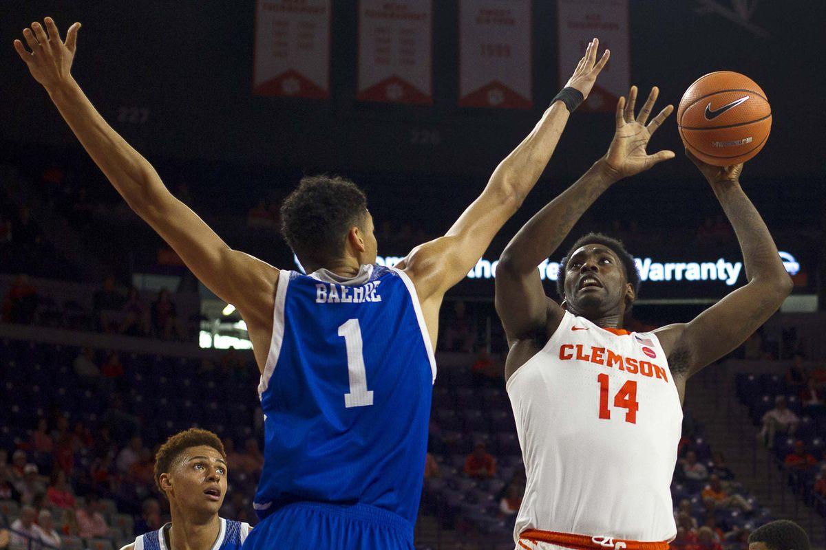 NCAA Basketball: NC-Asheville at Clemson