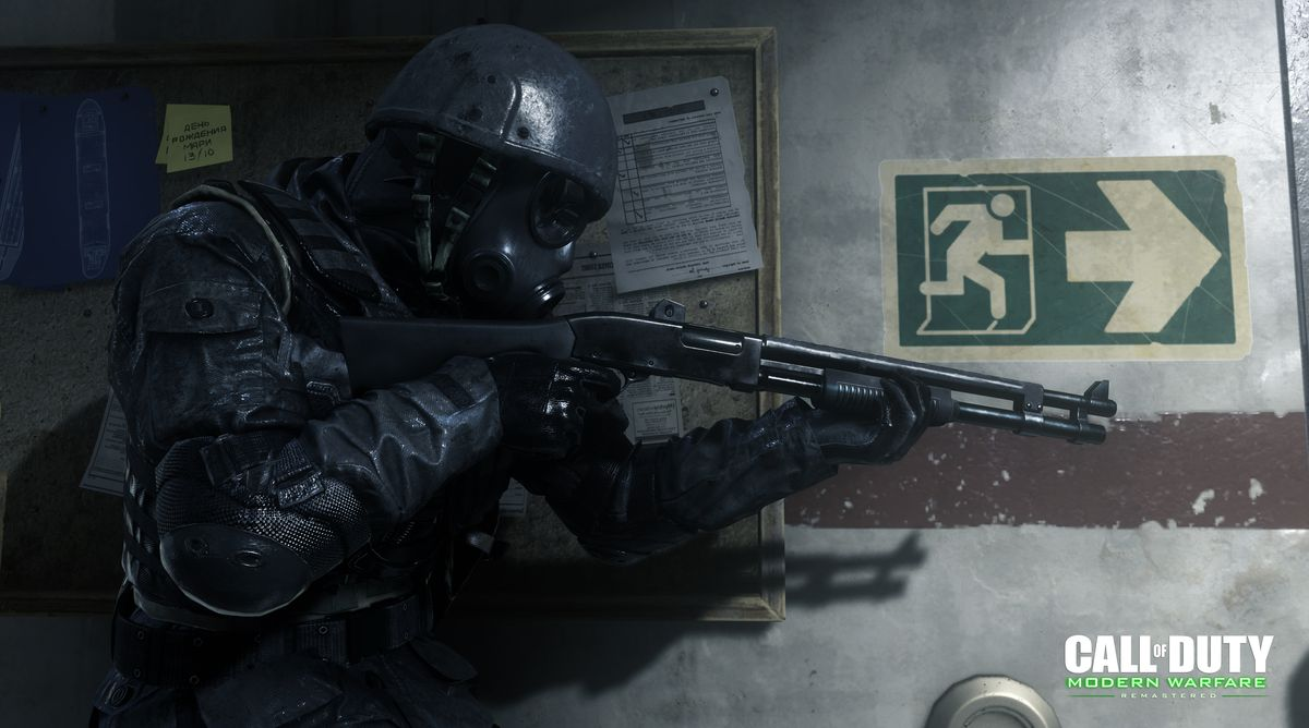 What We Know About Call Of Duty Modern Warfare Remastered The Verge