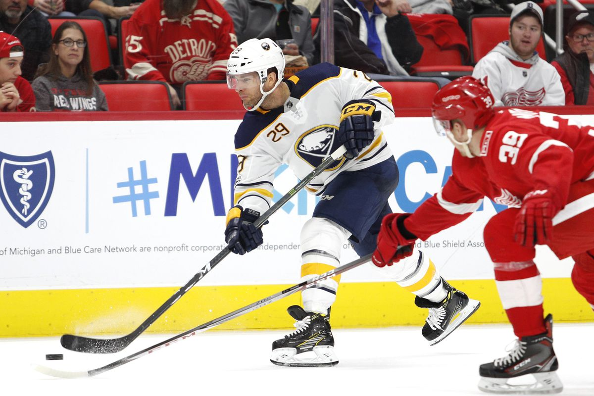 NHL: Buffalo Sabres at Detroit Red Wings