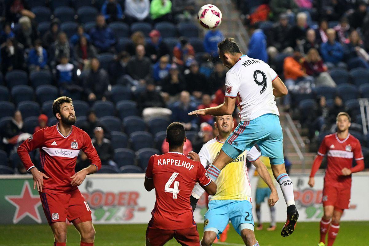 MLS: Columbus Crew SC at Chicago Fire