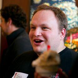 Joshua Davis, co-founder of The Gelato Fiasco